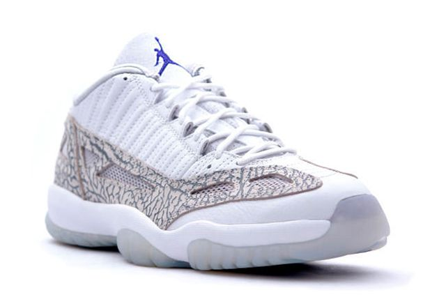 Air Jordan 11 Low Ie White Cobalt Zen Grey Cement Grey 2