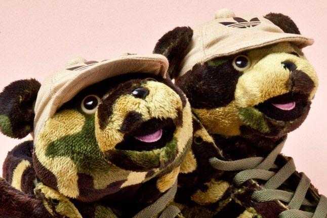 Adidas Originals Js Camo Bear Faces 1