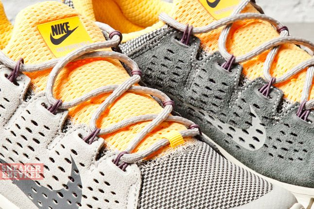 Nike Free Powerlines Ii Lthr Grey Laser Orange 3 Det