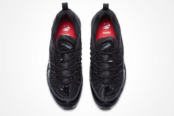Supreme X Nike Air Max 98 Black 4