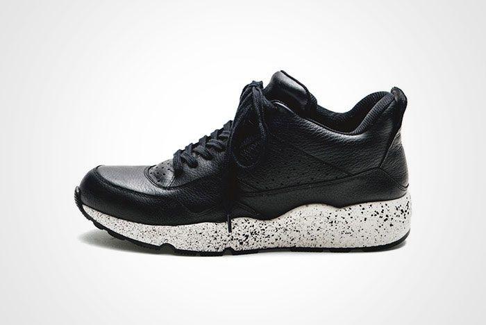 Iniform Experiment Amb Mid Sneaker Black Thumb