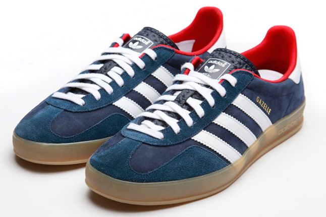 Adidas Originals Team Gb Gazelle Indoor Blue 1