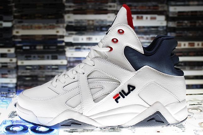 The Cage By Fila White Peacoat Red 1 1