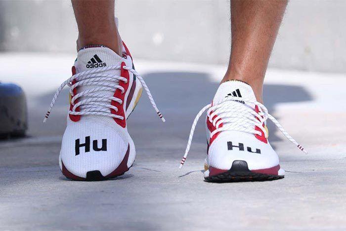 Pharrell Williams X Adidas Solar Hu Glide St White 2