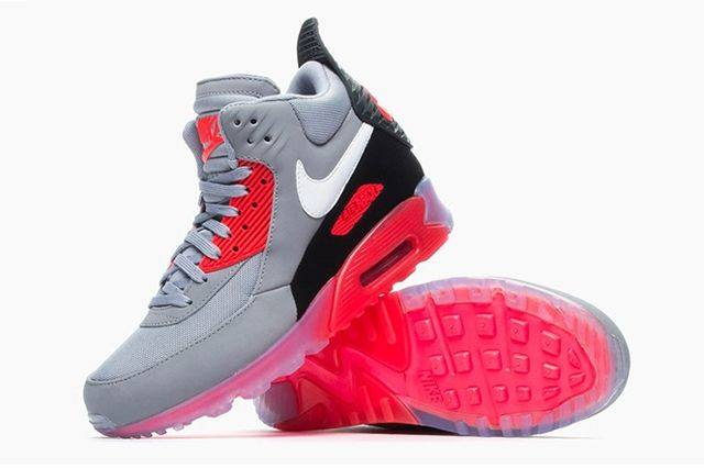 Nike Air Max 90 Sneakerboot Ice Infrared 2