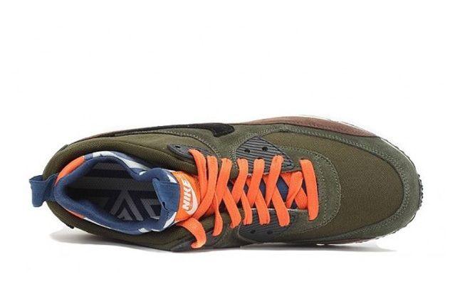Nike Air Max 90 Prm Sneakerboot Legion Green 2