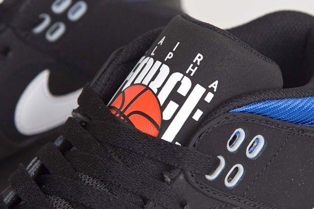 Nike Air Alpha Force Ii Black Royal Blue 5