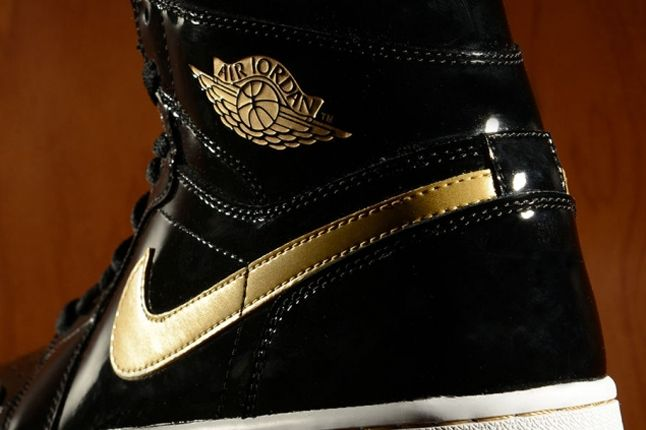 Air Jordan 1 Heel Detail New 1