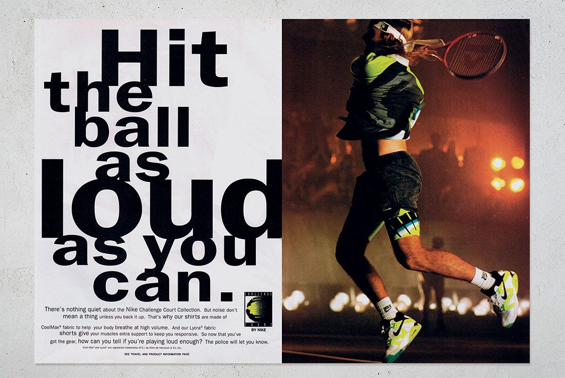SOLED OUT Sneaker Freaker Book Andre Agassi
