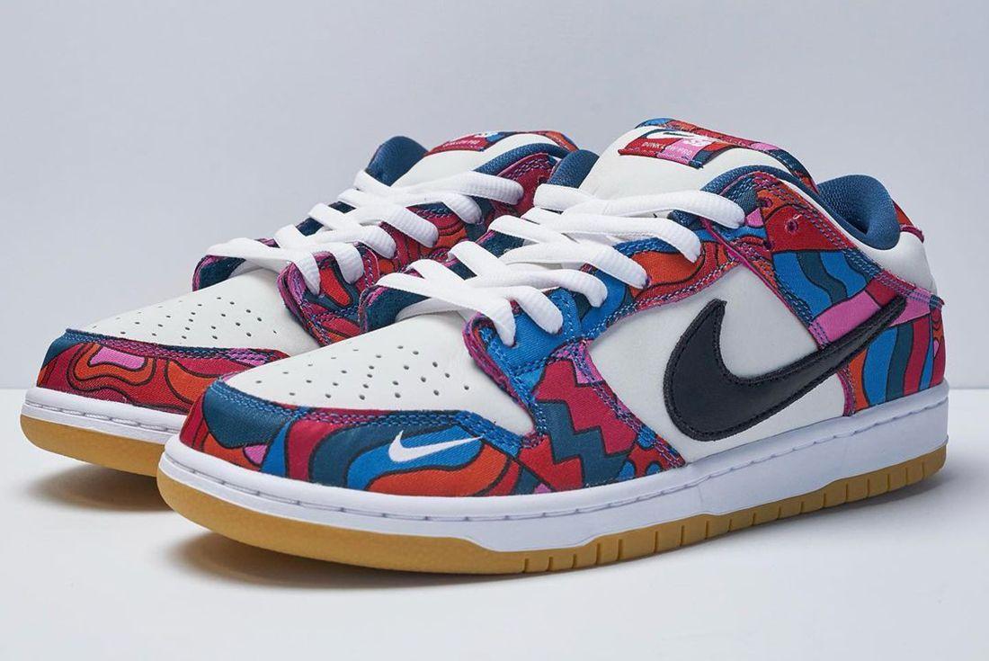 Parra x Nike SB Dunk Low Abstract Art