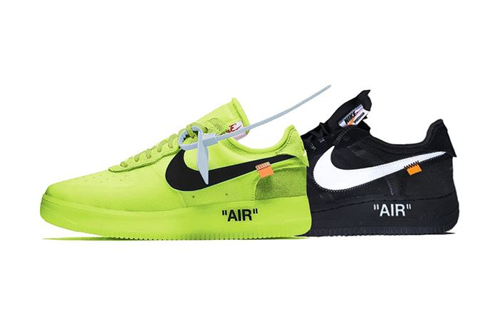 Off White Nike Air Force 1 Low Volt Black Release Date Info 1
