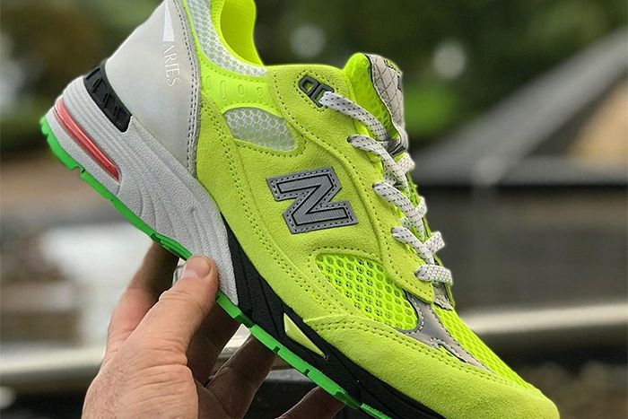 Aries New Balance 991 Neon New Images Release Date In Hand Instagram