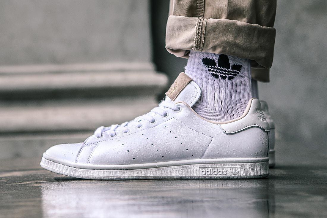 Adidas Stan Smith Home Of Classics On Foot Heel In Wet