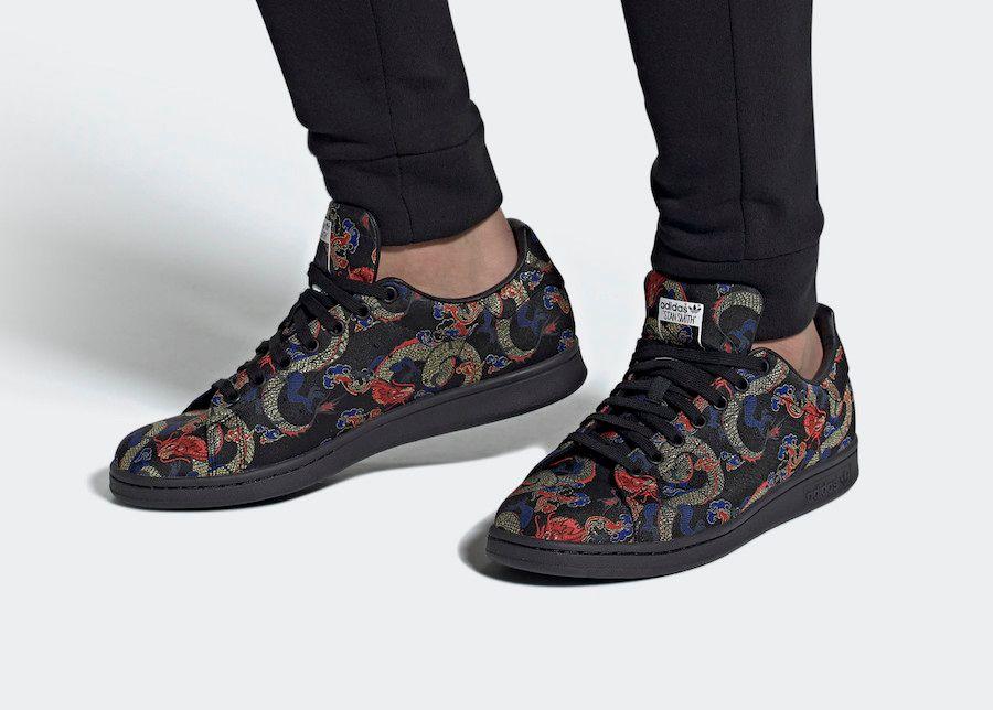 adidas Stan Smith Dragon Boat On Foot