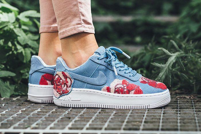 Nike Air Force 1 Upstep Floral 1