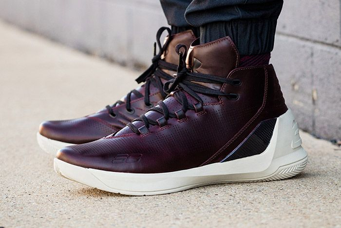 Under Armour Curry Lux Oxblood 4