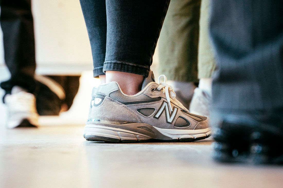 New Balance 990V5 Allike Launch Event Recap May 2019 8 990V4 On Feet