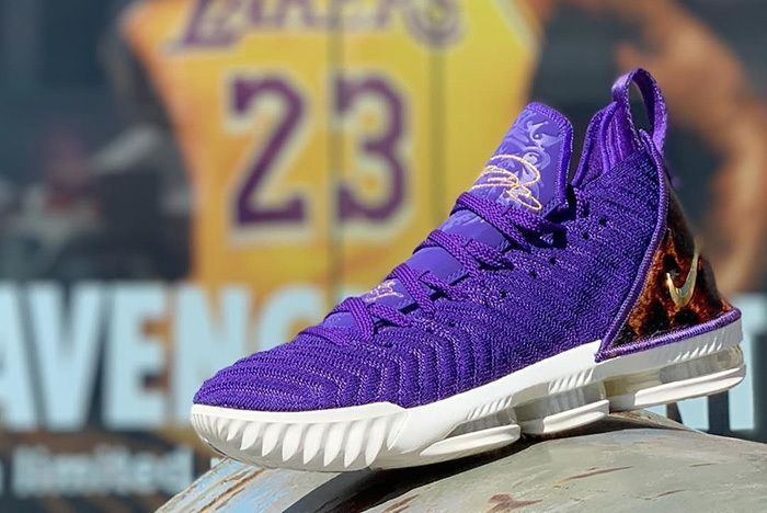 Nike Lebron 16 King Court Purple La Release 1