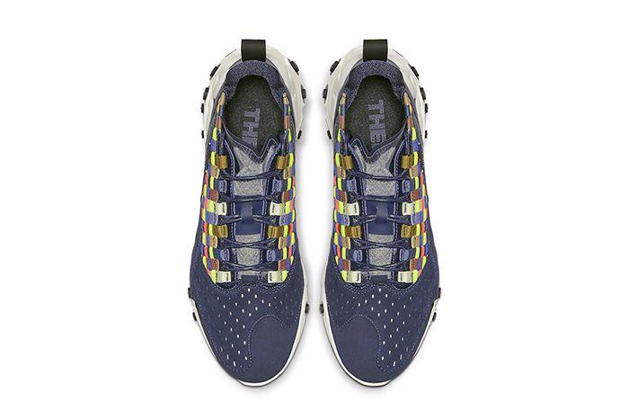 Nike React Sertu Blackened Blue At5301 400 Release Date Top Down