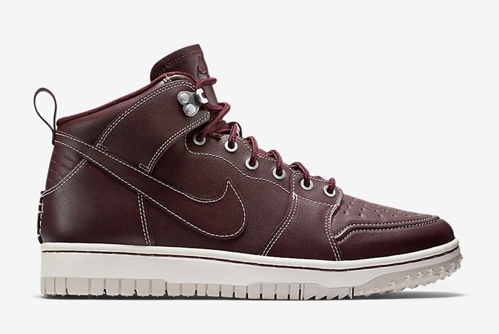 Nike Dunk High Sneakerboot Mahogany 2