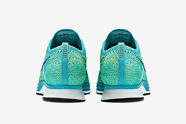 Nike Flyknit Racer Sport Turquoise Hyper Grape Volt 5