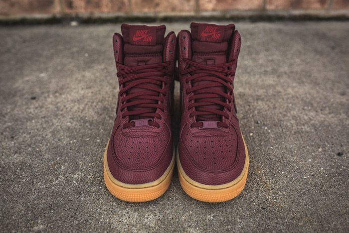Nike Air Force 1 High Night Maroon Womens 9