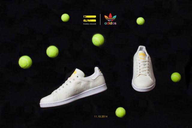 Pharrell Williams Adidas Originals Stan Smith Tennis 09 570X380