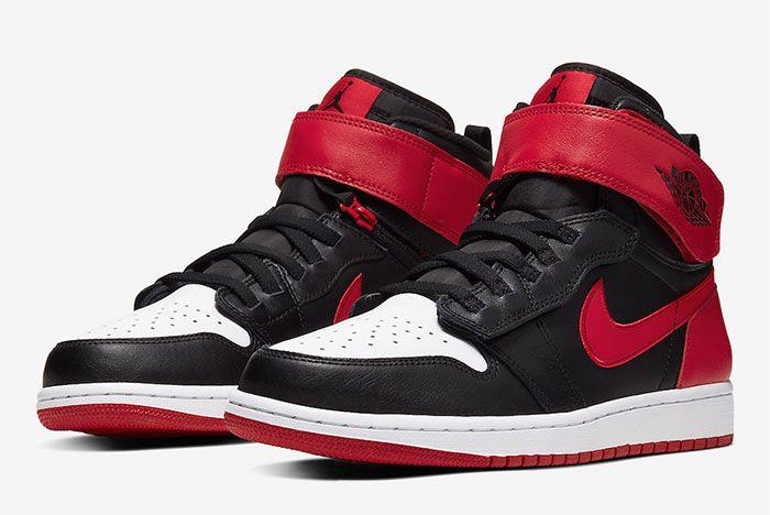 Air Jordan 1 Flyease Gym Red Toe