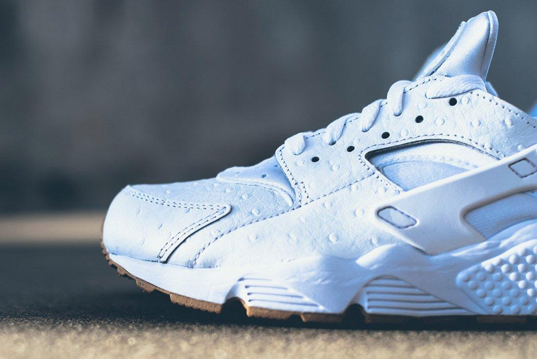 Material Matters Leather Nike Huarache Ostrich 1