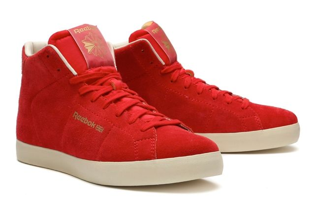 Reebok Classics Reserve The Franchise Hi Red Popped