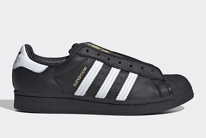 Adidas Superstar Laceless Black Right