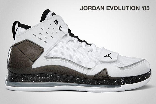 Jordan Evolution 85 Black 1