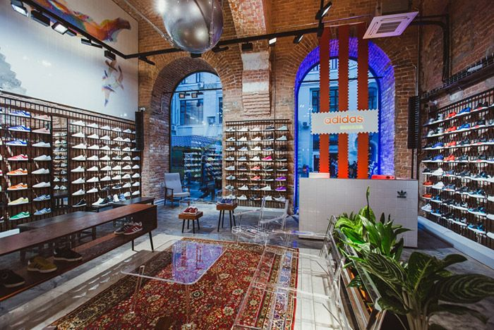 Adidas Open First Store In Russia 3