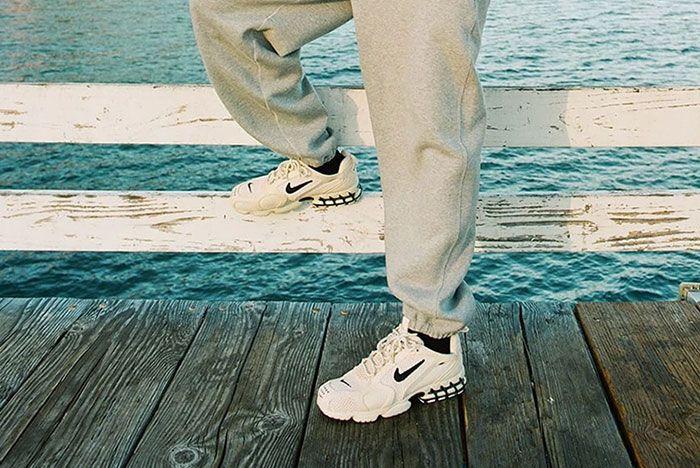Stussy Nike Spiridon Caged Sand 1