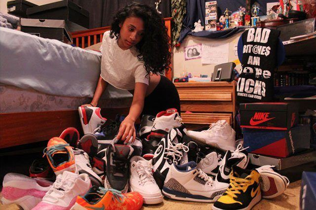 Girls With Sneaker Game