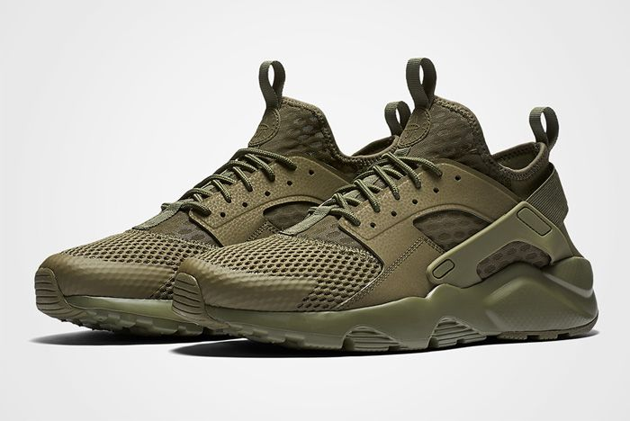 Nike Air Huarache Military Green 2