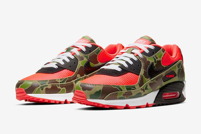 Nike Air Max 90 Reverse Duck Camo Cw6024 600 Release Date Price 4 Official