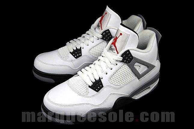 Air Jordan 4 White Cement 5 1