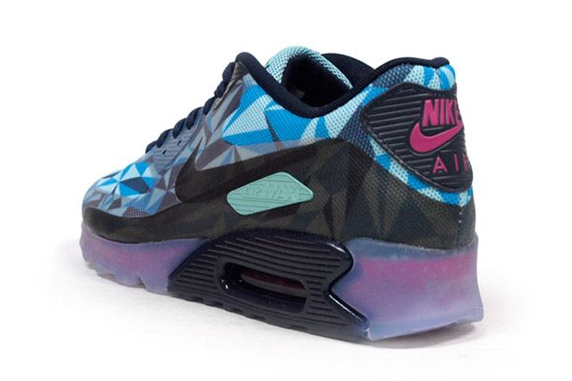 Air Max 90 Ice Blue Heel