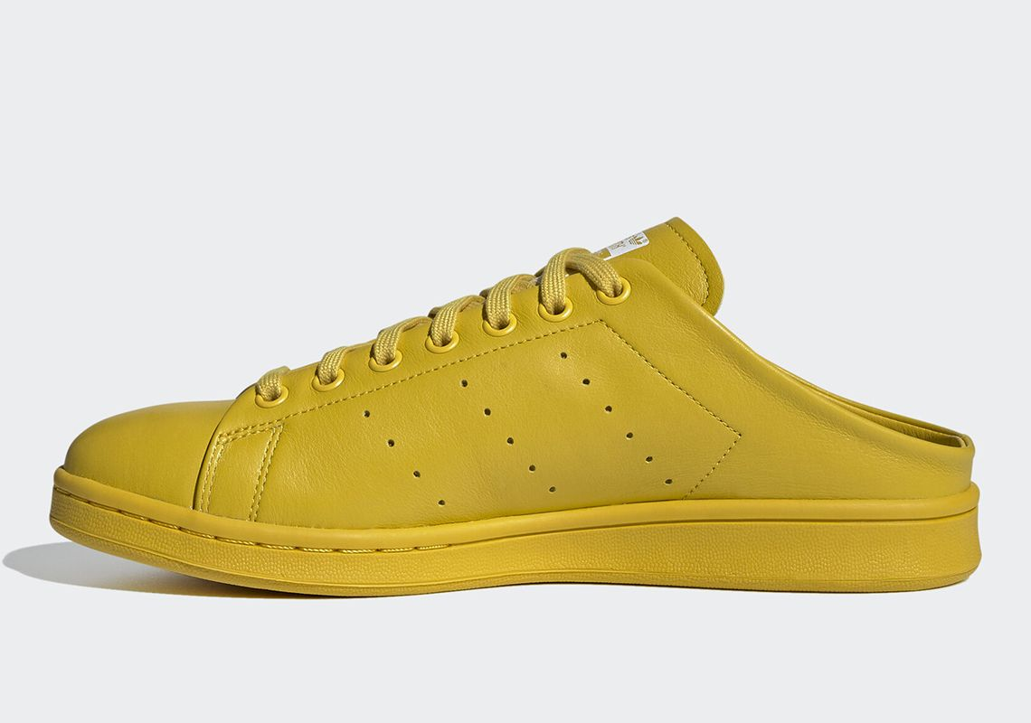 adidas Stan Smith Mule Tribe Yellow Left
