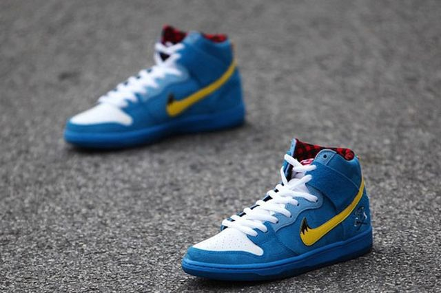 Familia Skates Nike Sb Dunk High Blue Ox 03
