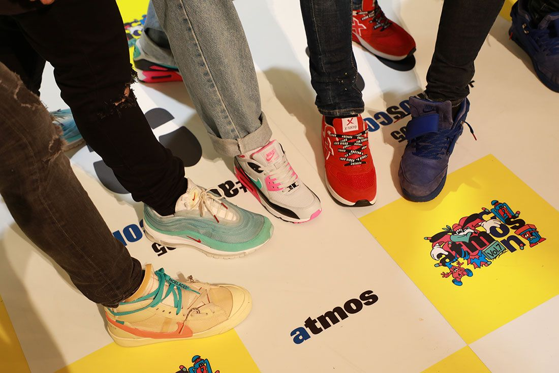 Atmos Con Tokyo 2019 Koji Sneaker Freaker On Foot Shot10