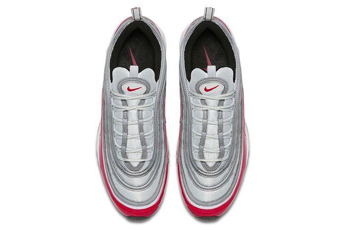 Nike Air Max 97 Silver Red 5