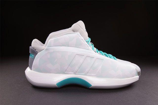 Adidas Crazy 1 Kobe White Turquoise 1
