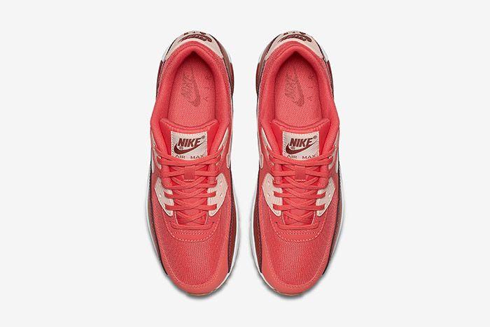 Nike Air Max 90 Womens Ember Glow Dark Cayenne Gum 4