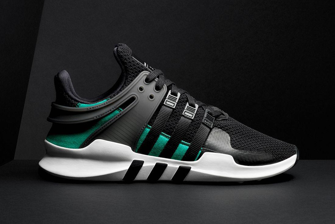 Adidas Eqt Adv Support Blacksub Green1