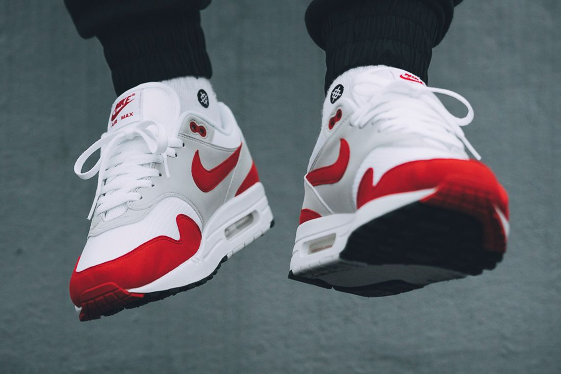 Nike Air Max 1 Red University Red 8