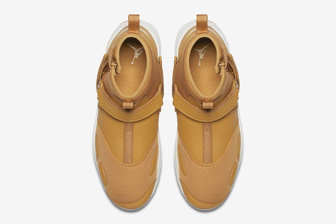 Air Jordan Trunner Lx High Golden Harvest Wheat Brown 4