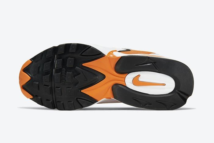 Nike Air Max Triax 96 Magma Orange Outsole