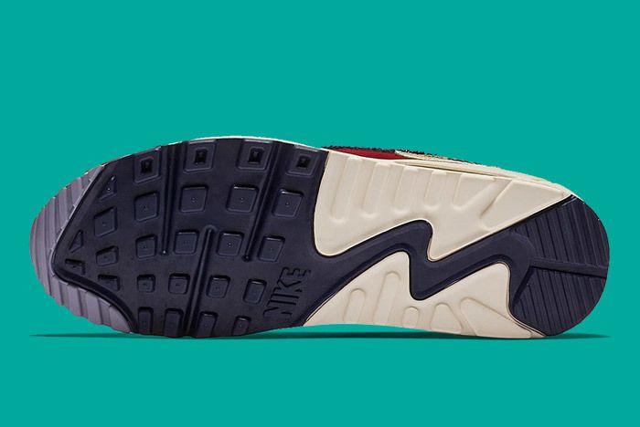 Nike Air Max 90 Chenille Red Blue 3